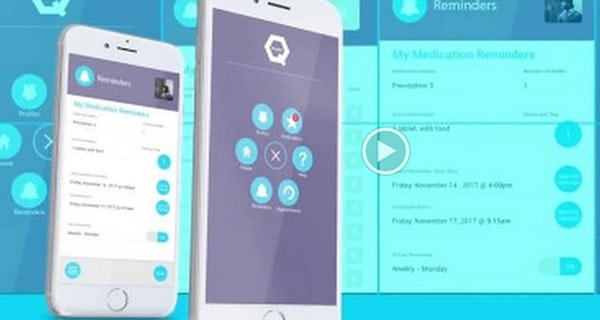 HealthQ app developed by physicians and nurses