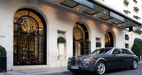 A fine deception at a fine Paris hotel