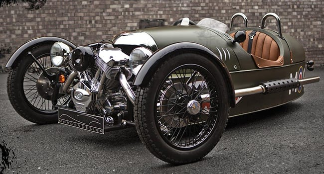 morgan 3 wheel