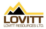 President of Lovitt Resources Provides Update to Shareholders