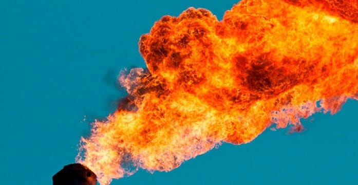 Canada's gas flaring practices among the best in the world