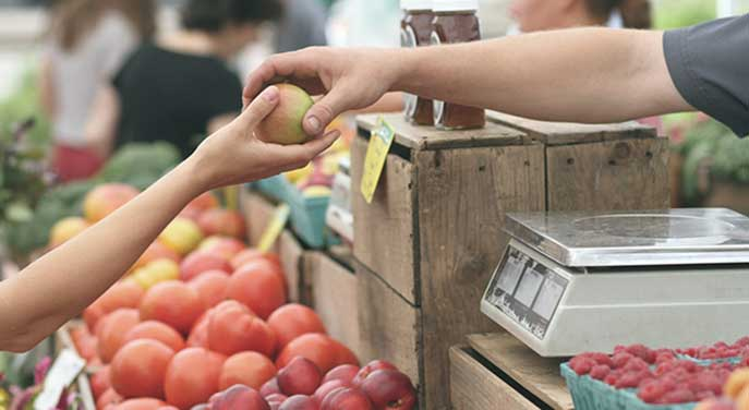 The farm is merging with food retail spaces